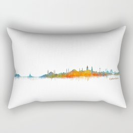 Istanbul City Skyline Hq v2 Rectangular Pillow