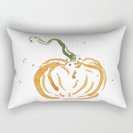 Abstracted Pumpkin Rectangular Pillow