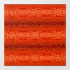 Rustic Orange Geometric Southwestern Pattern - Luxury - Comforter - Bedding - Throw Pillows - Rugs Canvas Print
