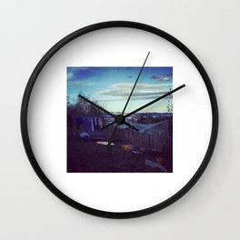 A Healthy Backyard Wall Clock