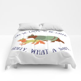 Robin Hood and Little John Comforters