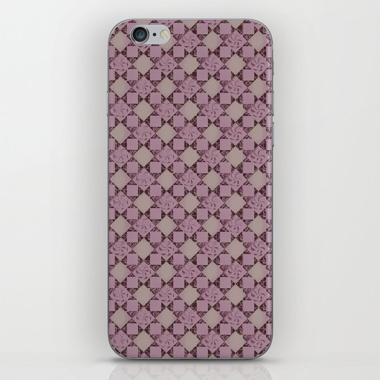 pattern (pale pink#2) iPhone & iPod Skin