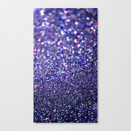 Partytime in Purple Canvas Print