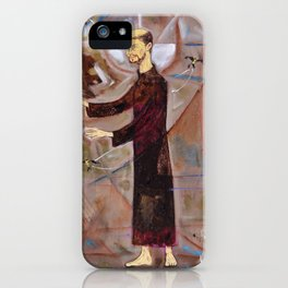 Francis of Assisi Francisco Juan Manuel Rocha Kinkin iPhone Case