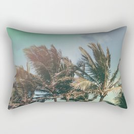 Vintage Palm Hawaii Summer Daze Rectangular Pillow