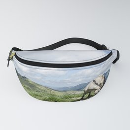 Horse and countryside Fanny Pack