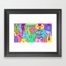 Monster Picture Framed Art Print