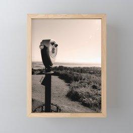 Vintage View Finder Framed Mini Art Print