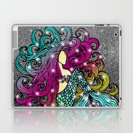 Rainbow Mermaid Laptop & iPad Skin