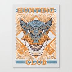 Hunting Club: Tigrex Canvas Print