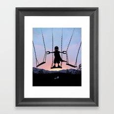 Magneto Kid Framed Art Print