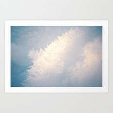 Winter Snow Art Print