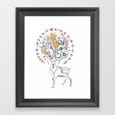 like a halo around your head Framed Art Print