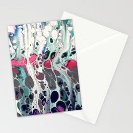 Tadaaaa - an abstract acrylic swipe Stationery Cards