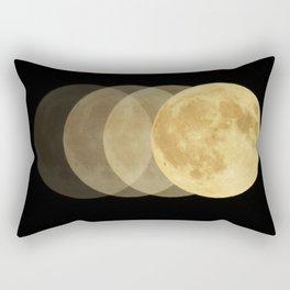 Full Moon in Flux Rectangular Pillow