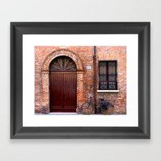 Door Series (6) Framed Art Print