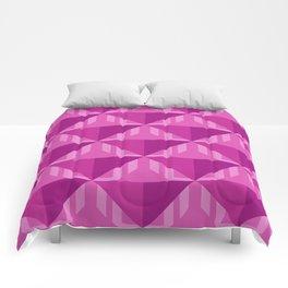 Raspberry Darts Comforters