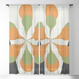 Mid-Century Art 1.4 Sheer Curtain