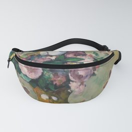 "Paul Cezanne ""Vase of Flowers"" Fanny Pack"