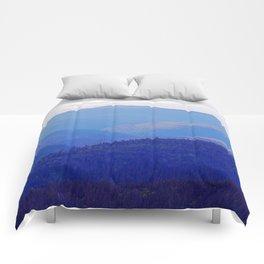 Rolling Hills of the Peninsula Comforters