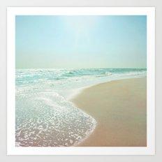 Good Morning Beautiful Sea Art Print