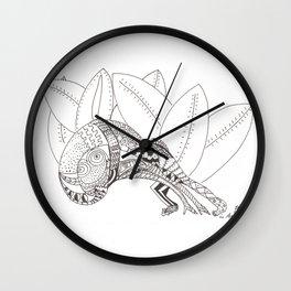Pasiòn in Amazzonia Wall Clock