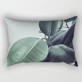 Ficus Elastica #20 #LightGreen #foliage #decor #art #society6 Rectangular Pillow