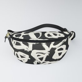 Tribal Triangle Dots Fanny Pack