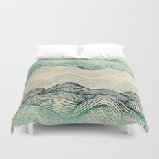 Crash Into Me  Duvet Cover