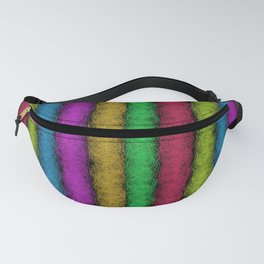 Colorful Fleece Fanny Pack