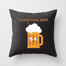 Brewmance Throw Pillow