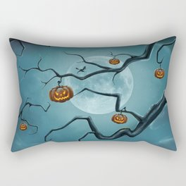 Halloween Tree Rectangular Pillow