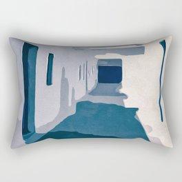 Tunisian Street Rectangular Pillow