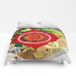 mandala y duendes Comforters