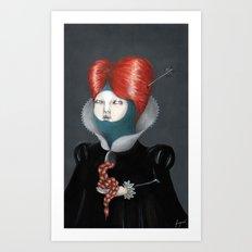 Encarnación: María Art Print