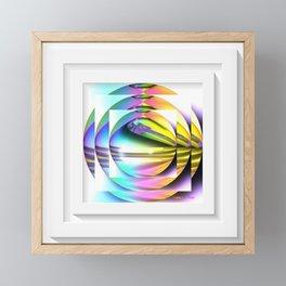 Reflected Orbs Framed Mini Art Print