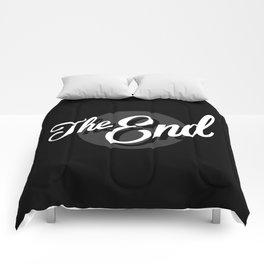 The End Vintage Cinema Comforters