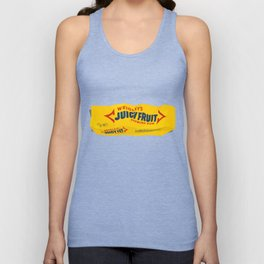 Discarded gum wrapper Unisex Tank Top