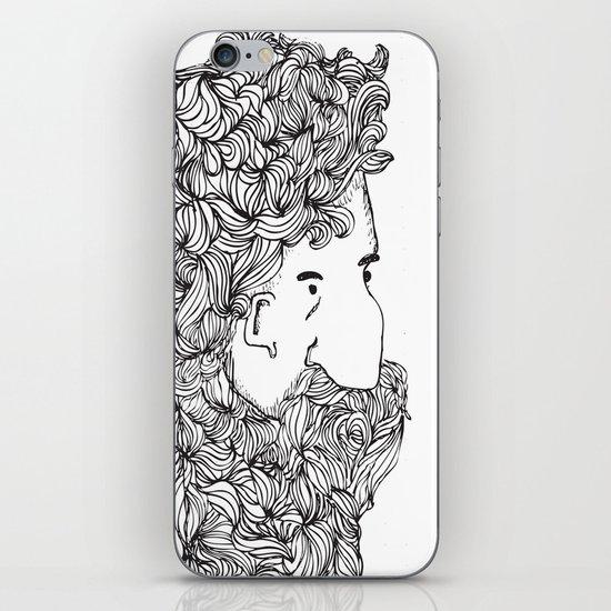 Bearded Man iPhone & iPod Skin