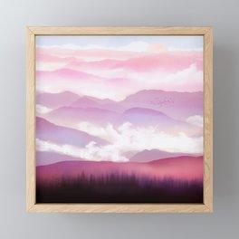 Candy Floss Mist Framed Mini Art Print