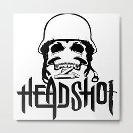 Headshot Metal Print