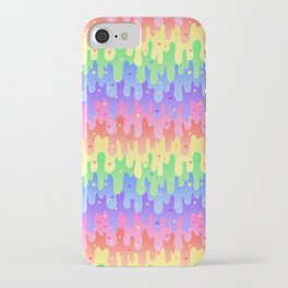 Rainbow Slime iPhone Case