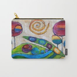 Unicorns Live Here Carry-All Pouch