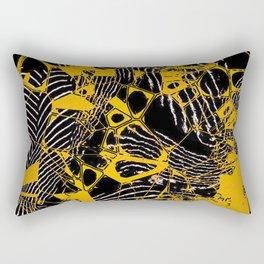 Crazy abstract Nighmare D Rectangular Pillow
