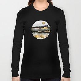 Golden Spring Moon Long Sleeve T-shirt