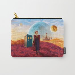 13th Doctor at Gallifrey Planet Carry-All Pouch