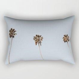 Three Palm Trees II Rectangular Pillow