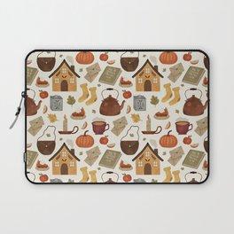 Autumn Cottage Days Laptop Sleeve