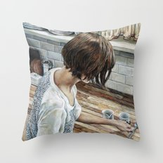 Not This Spoon Throw Pillow