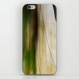 Forest, Water, Lines iPhone Skin
